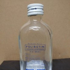 Botellas antiguas: ANTIGUA BOTELLA POLIBUTIN.. Lote 195247943
