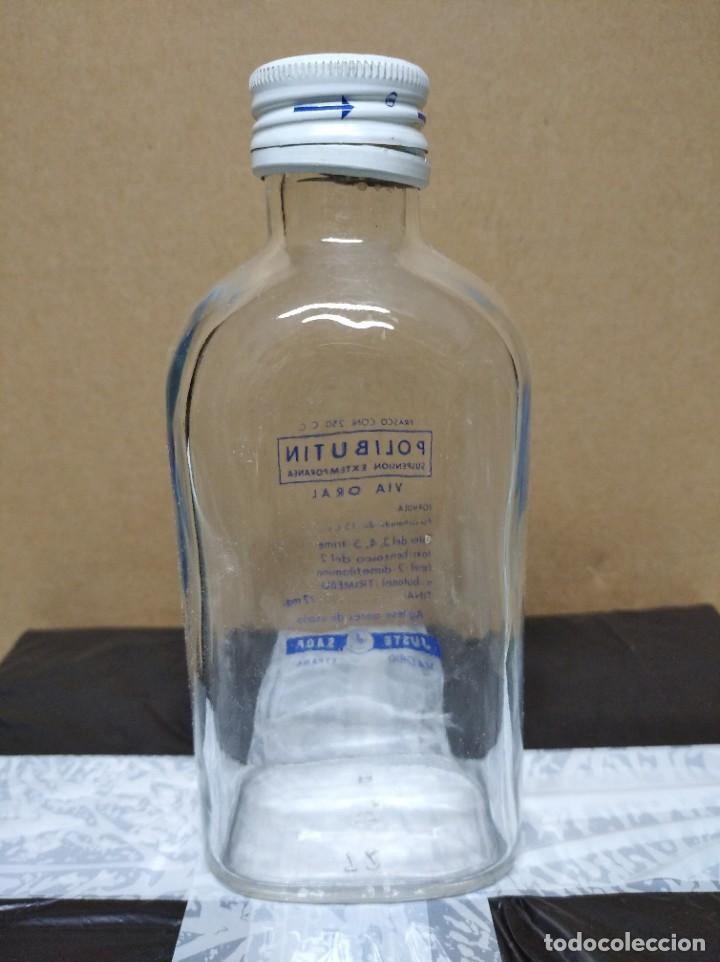 Botellas antiguas: Antigua botella Polibutin. - Foto 2 - 195247943
