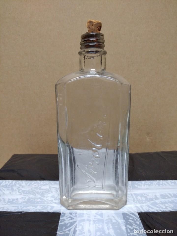 ANTIGUA BOTELLA DE SIROLINE. (Coleccionismo - Botellas y Bebidas - Botellas Antiguas)