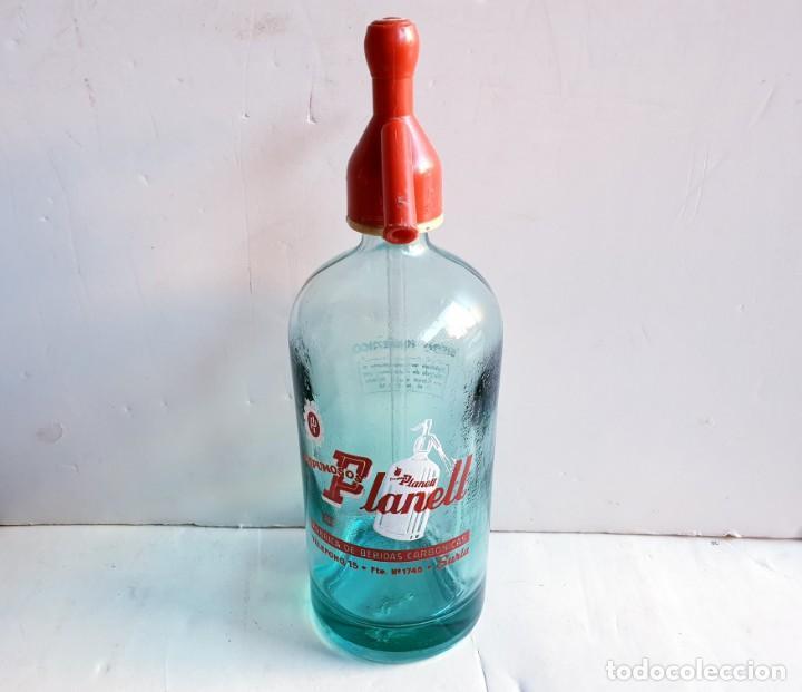 SIFÓN PLANELL DE SURIA (Coleccionismo - Botellas y Bebidas - Botellas Antiguas)