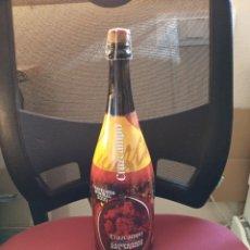 Botellas antiguas: GRAN BOTELLA CONMEMORATIVA CAMPEONES DEL MUNDO 2010. Lote 196327646