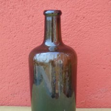 Botellas antiguas: ANTIGUA BOTELLA DE AGUA MONDARIZ.LETRAS EN RELIEVE.. Lote 196519341
