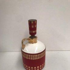 Botellas antiguas: BOTELLA DE WHISKY PORCELANA FINA. Lote 197551992