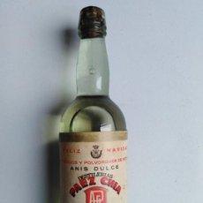 Botellas antiguas: BOTELLA PEQUEÑA ANÍS DULCE. Lote 198154838