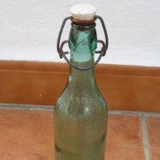 Botellas antiguas: PEQUEÑA BOTELLA ELECTROLACTIL.. Lote 198563141