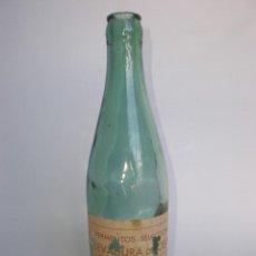 Botellas antiguas: *LEVADURA DE CERVEZA* 33 CL. INSTITUTO FERRÁN-BARCELONA, ETIQUETA. Lote 200293243