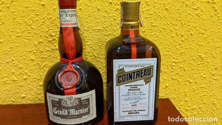 LICORES-GRAN MARNIER Y COINTREAU - AÑO 1980-90 (Coleccionismo - Botellas y Bebidas - Botellas Antiguas)