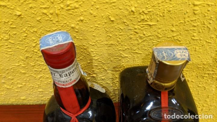 Botellas antiguas: licores-gran marnier y cointreau - año 1980-90 - Foto 2 - 202475133