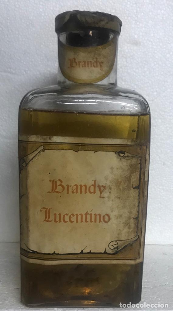 BOTELLA BRANDY/COÑAC LUCENTINO . LUCENA (Coleccionismo - Botellas y Bebidas - Botellas Antiguas)