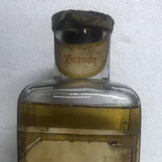 Botellas antiguas: BOTELLA BRANDY/COÑAC LUCENTINO . LUCENA. Lote 202496547