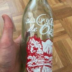 Botellas antiguas: BOTELLA DE GASEOSA LA FUENTE PÉREZ CELLA. Lote 204185821