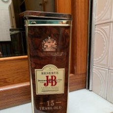Botellas antiguas: BOTELLA JB RESERVE 15 AÑOS. Lote 205236946