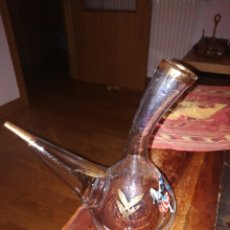 Botellas antiguas: PORRON DECORADO. Lote 205867058