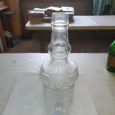 Botellas antiguas: BOTELLA, VACÍA DE MOSCATEL O VINO RANCIO.. Lote 207230713