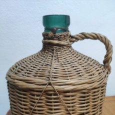 Botellas antiguas: RARÍSIMA ANTIGUA DAMAJUANA CON SELLO MP O PM. Lote 207237567