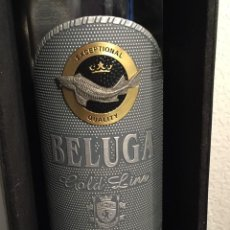 Botellas antiguas: MARIINSK DISTILLERY JSC, BELUGA GOLD LINE. Lote 207303302