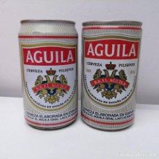 Botellas antiguas: LATA CERVEZA EL AGUILA 33 CL ESPAÑA BEER BIRRA CAN ANTIGUA. Lote 207319971