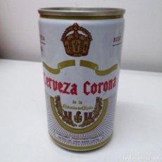 Botellas antiguas: LATA CERVEZA ESTRELLA DE GIJON CORONA 33 CL ESPAÑA BEER BIRRA CAN ANTIGUA. Lote 207320628
