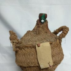 Botellas antiguas: ANTIGUA BOTELLA DAMAJUANA CUBIERTA DE ESPARTO.. Lote 210157938