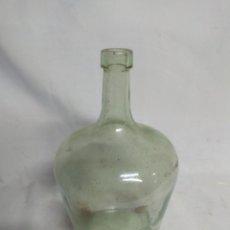 Botellas antiguas: ANTIGUA PEQUEÑA BOTELLA DAMAJUANA.. Lote 210157981