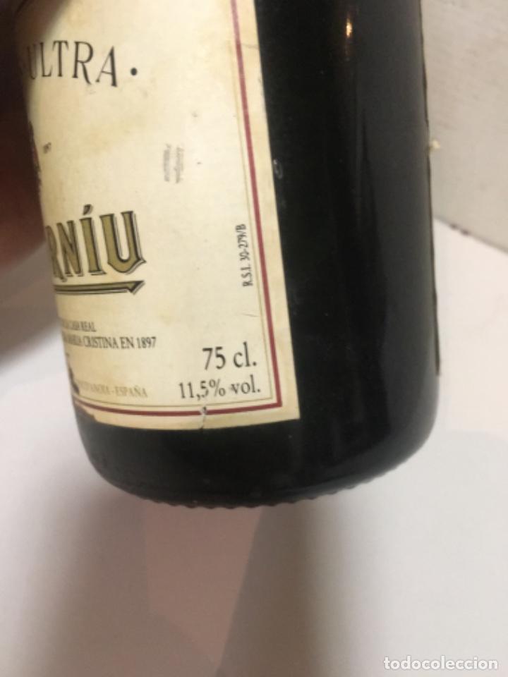 Botellas antiguas: (M-R/C) ANTIGUA BOTELLA DE CAVA CODORNIU GRAN RESERVA NON-POLUS-ULTRA BRUT R.S.i.30-279/13 - EMB 375 - Foto 3 - 210818396