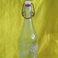 Botellas antiguas: BOTELLA DE GASEOSA SERIGRAFIADA 1 LITRO ESPUMOSOS MIRAMAR (ENVIO PENINS MENS GRATIS). Lote 211984725