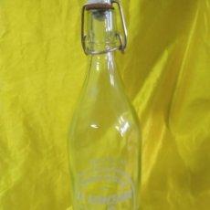 Botellas antiguas: BOTELLA DE GASEOSA SERIGRAFIADA 1 LITRO LA HORCHANA (HORCHE) ENVIO PENINS MENS GRATIS. Lote 212178123