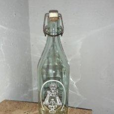 Botellas antiguas: BOTELLA DE GASEOSA LA SANTINA. Lote 213029133