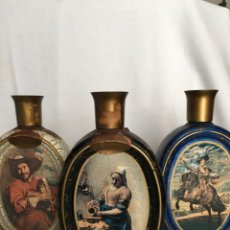 Bouteilles anciennes: LOTE BOTELLAS WHISKY JIM BEAM - MÚSICOS Y PINTURAS. Lote 214361473
