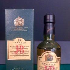 Botellas antiguas: JB 15 AÑOS RESERVE. BLENDED SCOTCH WHISKY. CAJA ORIGINAL. AÑO 1988. MUY BUEN ESTADO. Lote 214590202