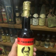 """Botellas antiguas: FINO """"HOMENAJE"""" FRANCO. ESCASA Y DIFICIL. LLENA Y EN BUEN ESTADO. MORA CHACON - LUCENA (CORDOBA). Lote 215806635"""