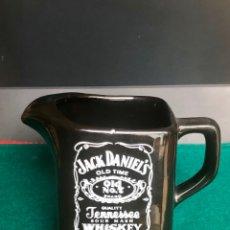 Botellas antiguas: JACK DANIELS JARRA/JARRITA CERÁMICA OLD BRAND WHISKEY NO.7 FABRICADA EN ITALIA. BUEN ESTADO. Lote 217278998