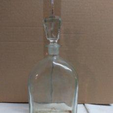 Botellas antiguas: BOTELLA PUBLICIDAD SANDEMAN.. Lote 215271881