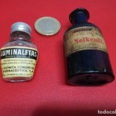 Botellas antiguas: FRASCOS DE MEDICAMENTOS. Lote 221438326
