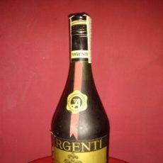 Botellas antiguas: BRANDY ARGENTI RESERVA DIEZ LLENA. Lote 222179252