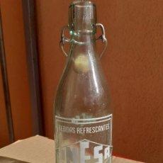 Botellas antiguas: BOTELLA DE GASEOSA UMESA DE ASTORGA 1/2 L. Lote 222179395