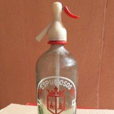 Botellas antiguas: SIFÓN CAPITOL DE ALMANSA ALBACETE. Lote 222179490
