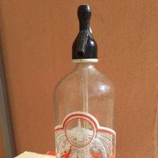 Botellas antiguas: SIFÓN AGUAS DE SANTA MARGARITA LA CORUÑA. Lote 222179547
