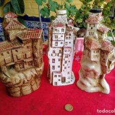 Botellas antiguas: BOTELLAS DE CASAS DE CUENCA. Lote 222786216