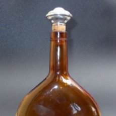 Botellas antiguas: BOTELLA PANJAS TAPÓN DE PLATA. Lote 224391666
