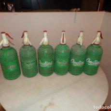 Botellas antiguas: BOTELLAS SIFON ONDINA A 10 EUROS UNIDAD. Lote 225345350