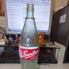 Botellas antiguas: ANTIGUA BOTELLA GASEOSA SANITEX. Lote 226283775