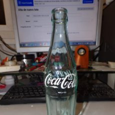 Botellas antiguas: ANTIGUA BOTELLA CRISTAL COCA COLA. Lote 226597455