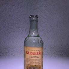 Botellas antiguas: MAGNIFICA BOTELLA DE AGUA MINERAL DE CARABAÑAS. Lote 227101245