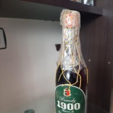 Botellas antiguas: BRANDY TERRY ETIQUETA VERDE, 4 PSTAS COÑAC. Lote 227585466