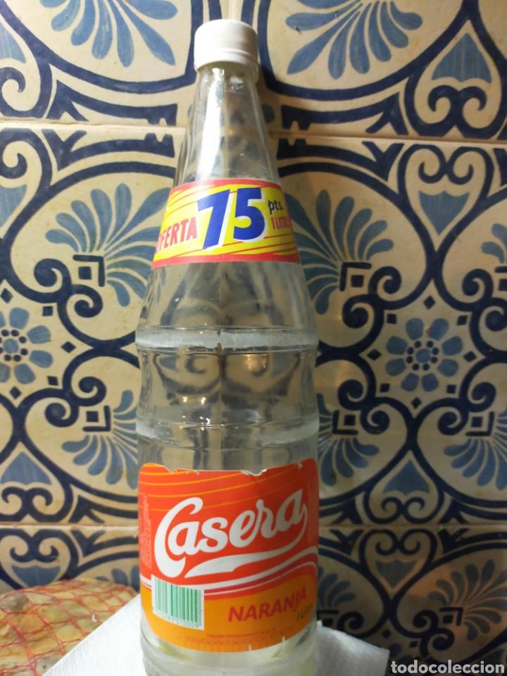 BOTELLA LA GASEOSA LA CASERA REFRESCO NARANJA 1993 (Coleccionismo - Botellas y Bebidas - Botellas Antiguas)