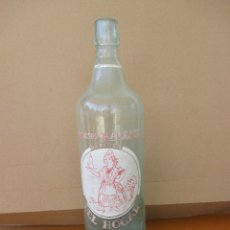 Botellas antiguas: ESPUMOSOS BARRAIX GASEOSA DEL HOGAR 1 LITRO. Lote 228749095