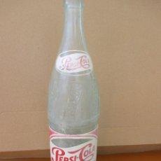 Botellas antiguas: BOTELLA ANTIGUA PEPSI-COLA 75 CL SERIGRAFIADA EN FRANCÉS. Lote 228933100