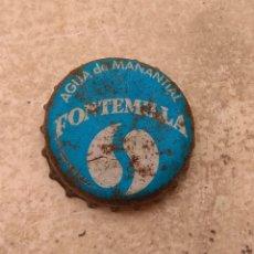 Botellas antiguas: ANTIGUA CHAPA - TAPÓN CORONA AGUA FONTEMILLA -. Lote 229297415