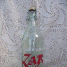 Bouteilles anciennes: BOTELLA 1 LITRO DE GASEOSA ZAR (CASTADON - ORENSE). Lote 231034875